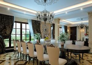 Khám phá kiến trúc phòng ăn theo phong cách cổ điển