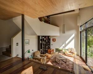 Không gian nhà tràn ngập ánh mặt trời