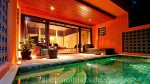 Phòng ngủ - Bể bơi: Sự kết hợp hoàn hảo