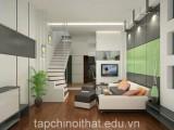 Cầu thang dành cho nhà có diện tích nhỏ