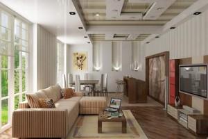 Vẻ tuyệt đẹp của gỗ trang trí nội thất.