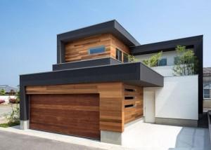 Ngôi nhà sang trọng với nội thất gỗ