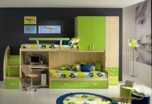 Những thiết kế nội thất đáng yêu dành cho phòng ngủ của bé