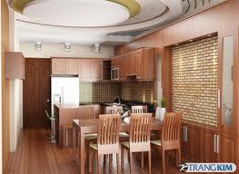 Nội thất nhà bếp cho không gian ấm cúng và sang trọng