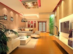 Bài trí nội thất phòng khách hiện đại