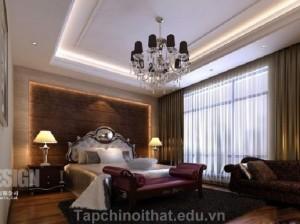 Phòng ngủ kiểu Trung Hoa