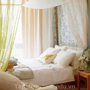 Ý tưởng phòng ngủ lãng mạn, mong manh