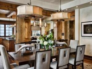 Bàn ghế phong cách mang vẻ đẹp cho phòng ăn đẹp hơn