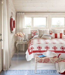 Thiết kế phòng ngủ lung linh với màu sắc