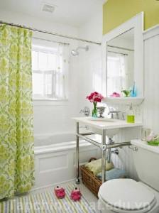 Cách làm cho phòng tắm nhỏ rộng và đẹp
