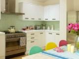 Thiết kế phòng bếp với phong cách kẹo ngọt
