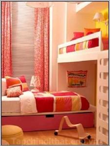 Thiết kế phòng ngủ cực yêu cho bé sinh đôi