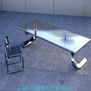 Những mẫu bàn siêu ấn tượng cho phòng khách