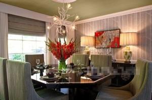 Phòng ăn ấm cúng với những mẫu bàn ăn đẹp