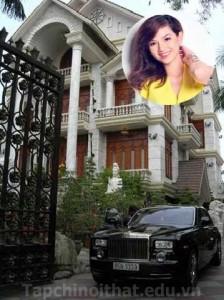 Cận cảnh nhà đẹp của hot girl Quỳnh Chi