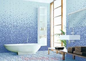 Gạch Mosaic cho phòng tắm lấp lánh