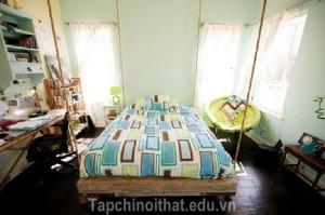 Giường treo - món nội thất mộc mạc và vô cùng ấn tượng