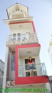 Nhà 3 tầng xinh xinh của ca sĩ Việt My