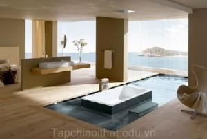 Thiết kế nhà tắm sang trọng hiện đại