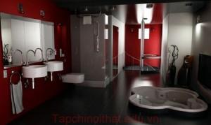 Thiết kế nội thất phòng tắm, nhà vệ sinh đúng cách