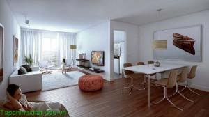 Những mẫu thiết kế phòng khách mở tuyệt đẹp