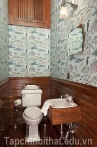 Các lưu ý bài trí giúp phòng tắm hẹp ấn tượng hơn