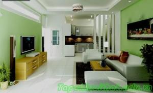 Phòng khách sang trọng với những màu sắc khác nhau