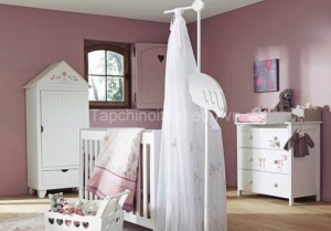 Trang trí phòng sơ sinh đáng yêu cho bé