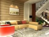 Thiết kế nội thất phòng khách cho nhà phố hiện đại