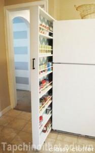 Giải pháp lưu trữ tiết kiệm diện tích cho phòng ăn nhỏ