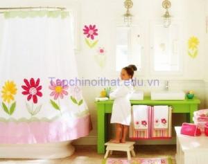 Bí quyết trang trí phòng tắm cho bé yêu