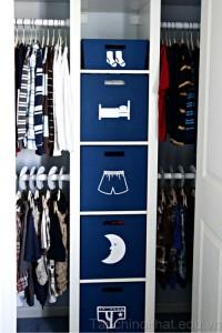 Tủ đồ đáng yêu cho phòng của bé