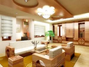 Thiết kế ánh sáng cho nội thất nhà trở nên đẹp hơn