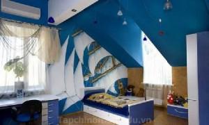 Màu sắc phòng ngủ cho trê
