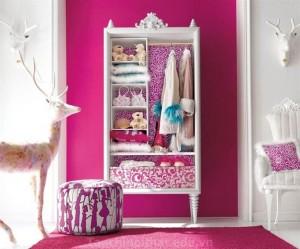 Phòng ngủ đa màu sắc thể hiện sự sang trọng giàu có