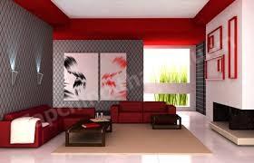 Màu đỏ cho không gian nhà