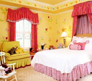 Sắc vàng cho phòng ngủ bé yêu thêm ấm áp
