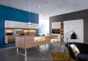 Thiết kế ánh sáng cho tủ bếp