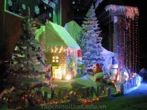 Trang trí mùa Noel