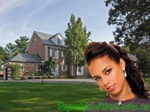 Ngôi nhà xa hoa nhất vùng của Alicia Key