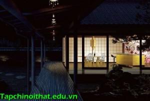 Mẫu thiết kế bếp hiện đại và thông minh theo phong cách Nhật