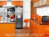 Không gian sáng tạo cho nội thất phòng bếp