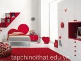 Làm mới phòng ngủ với sắc đỏ chào đón noel