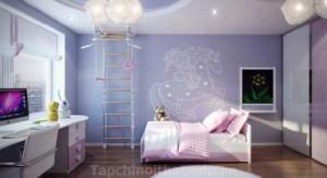 Trang trí phòng ngủ cho bé cực độc