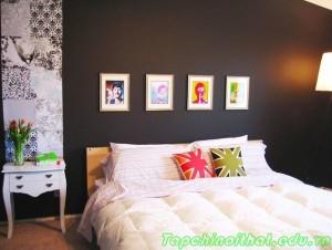 Phòng ngủ phong cách với gam màu Neon