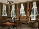 Vẻ đẹp yên bình với sắc nâu cho ngôi nhà