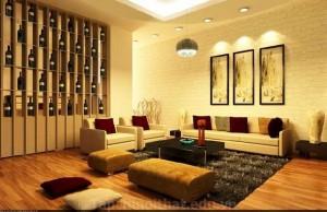 Trang trí nhà với nội thấy bằng chất giữ nhiệt
