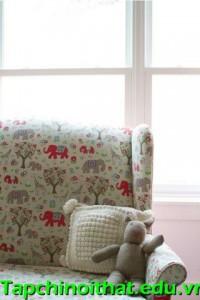Phòng 23m² đẹp như mơ cho bé gái 2 tuổi, DT 23m2