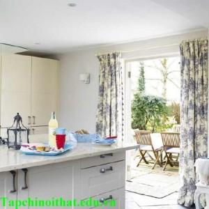 Thiết kế phòng bếp cho nhà vườn