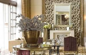 Trang trí phòng khách đẹp cho người mệnh Thổ